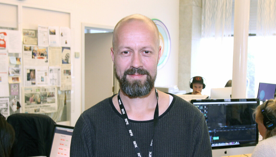 Etikkredaktør Per Arne Kalbakk i NRK. Arkivfoto: Glenn Slydal Johansen