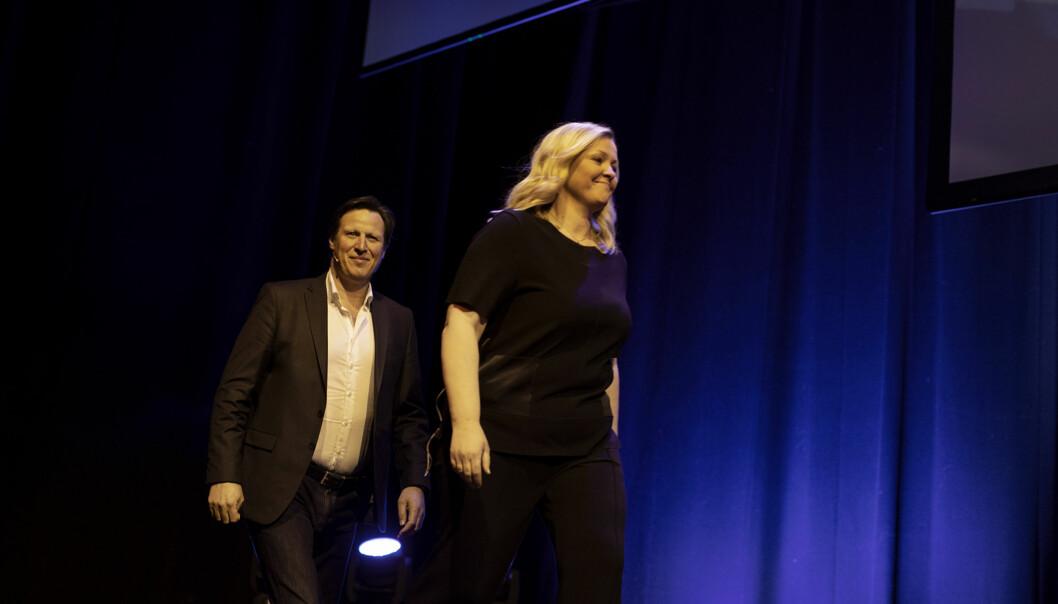 Kjersti Stenseng og Tom Tvedt. Foto: Andrea Gjestvang