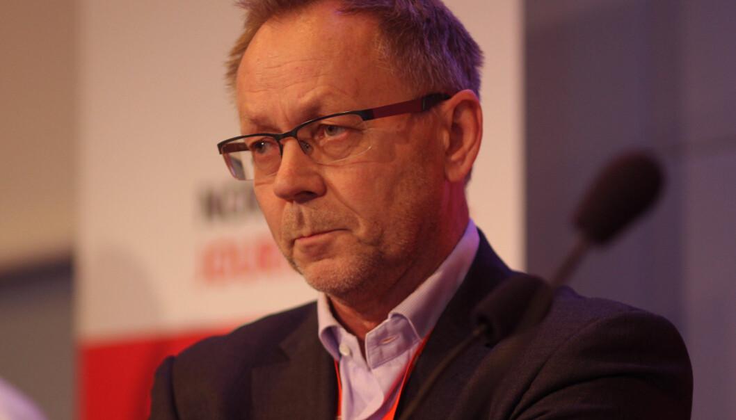 John Arne Markussen er avtroppende ansvarlig redaktør i Dagbladet. Foto: Martin Huseby Jensen