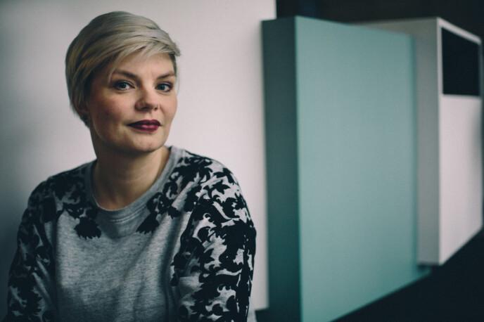 <p>Silje Sjursen Skiphamn er en av gjestene i podkasten Spinnesiden. Foto: Marte Vike Arnesen</p>