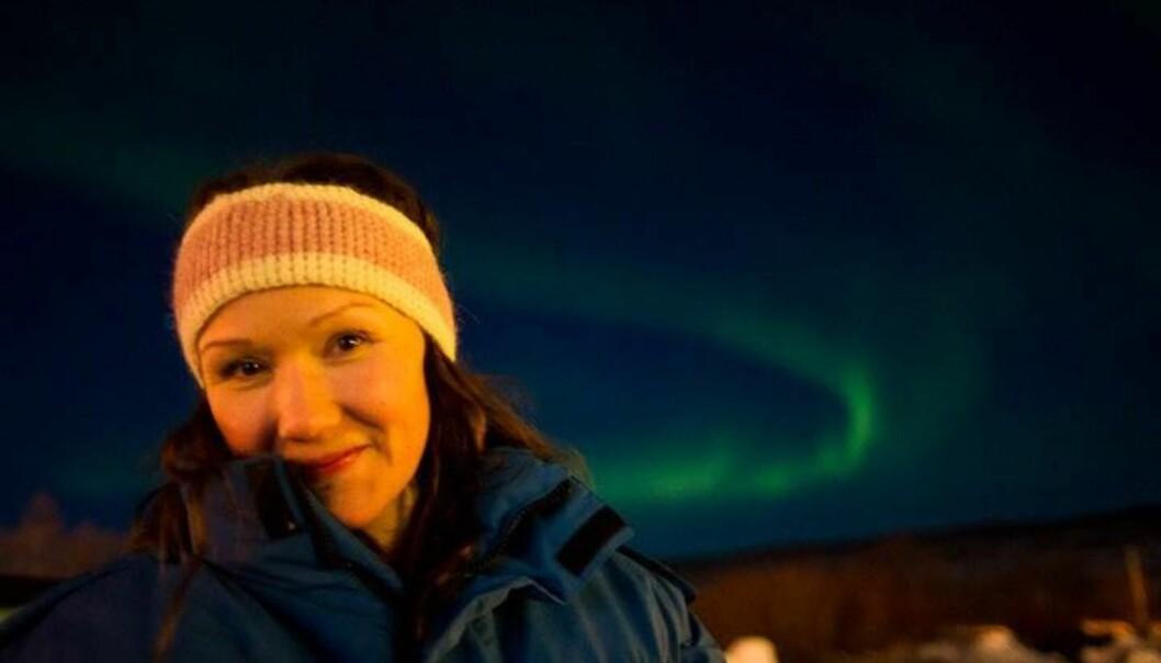 Inghild Eriksen, journalist i NRK Finnmark. Foto:Knut-Sverre Horn