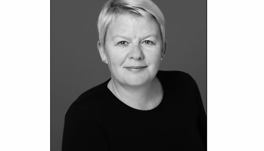 Bente Riise, generalsekretær i Norsk tidsskriftforening, er eneste kvinne på søkerlisten. Foto: Samlaget/Creative Commons