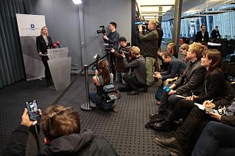 3.267 saker om Listhaug på én uke – beskylder mediene for å ha stått i spissen for en heksejakt mot henne