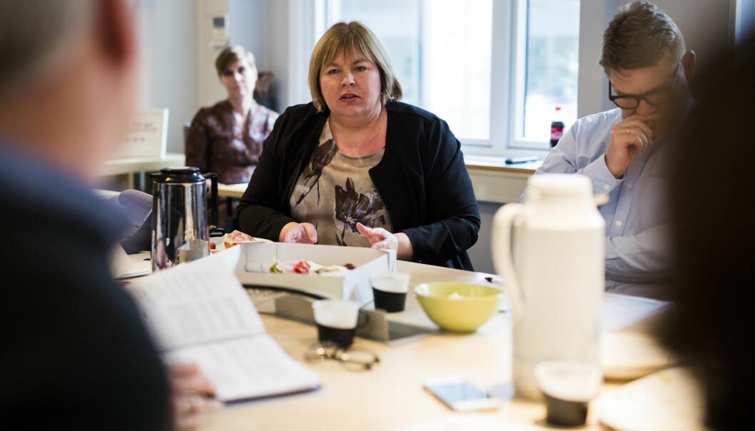 Elin Floberghagen la fram forslaget til hvem som heretter kan klages inn til PFU.Foto: Kristine Lindebø