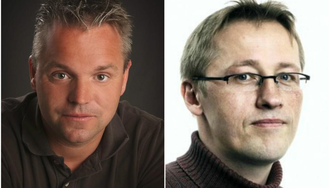 Eirik Veum og Sveinung Berg Bentzrød er blant de to få journalistene med forsvarskompetanse igjen i norske medier.
