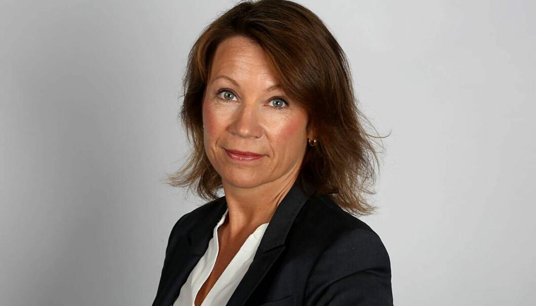 Kjersti Sortland, redaktør i Budstikka. Foto: Trine Jødal