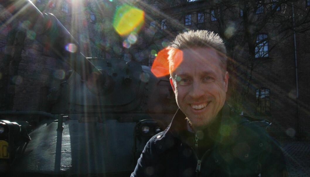 Ansvarlig redaktør Kristoffer Egeberg i Faktisk.no ønsker støtte fra staten. Arkivfoto: Martin Huseby Jensen