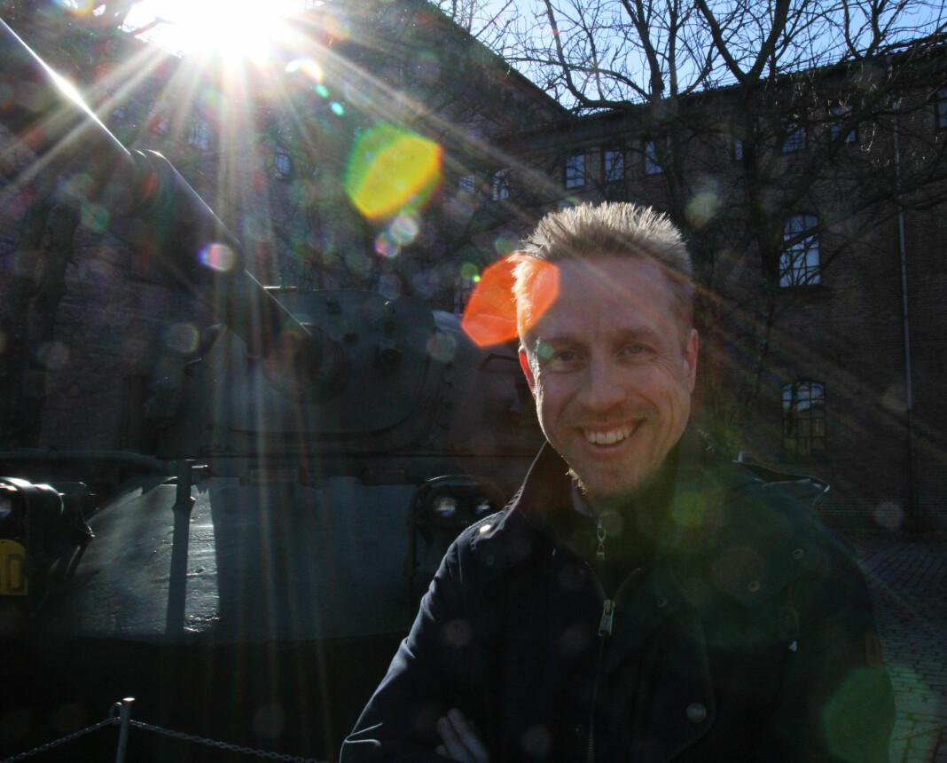 Kristoffer Egeberg, redaktør i Faktisk.no. Arkivfoto: Martin Huseby Jensen