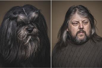 – Det er vanskeligere å få et godt portrett av en person enn en hund