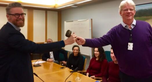 Mats Rønning fra NTB ny leder i Stortingets presselosje