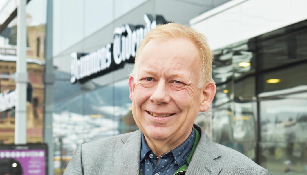 Lars Johnsen er forberedt på at det kan komme vanskelige tider også fremover i mediebransjen. De er han forberedt å stå i. Foto: Rune Folkedal