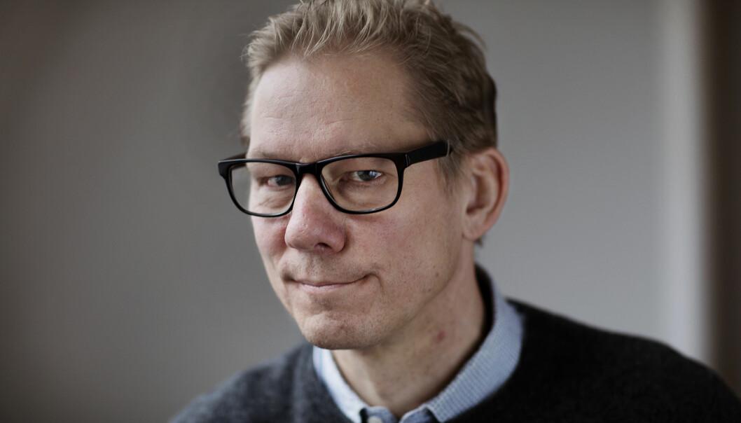 Etter nesten ti år forlater Martin Huseby Jensen Journalisten for å bli student. Foto: Andrea Gjestvang
