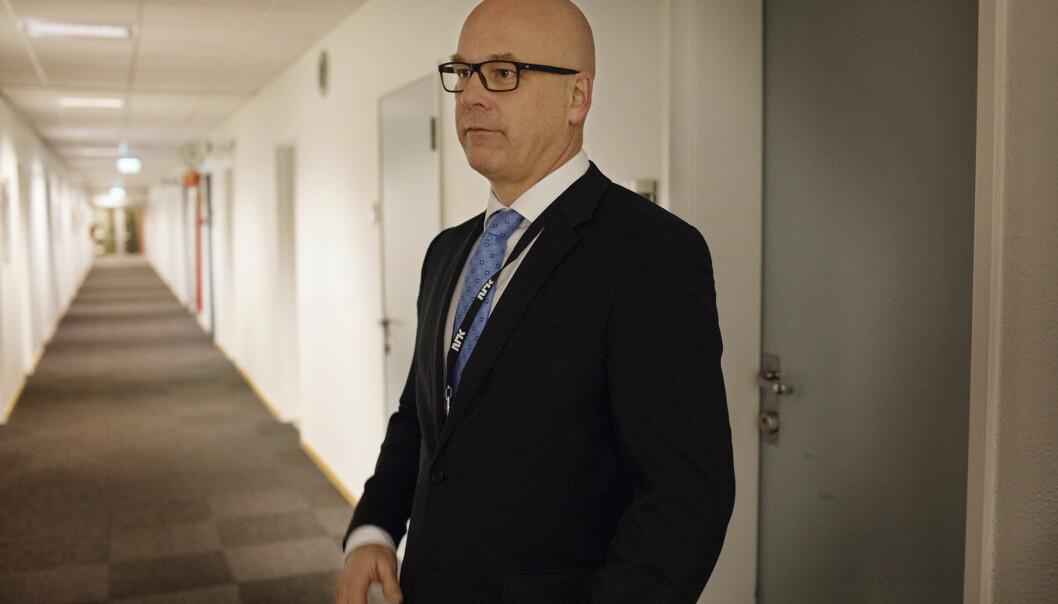 NRKs mobile trafikk påvirker ikke abonnementsavisenes betalingssatsing, mener kringkastingssjef Thor Gjermund Eriksen. – Faktum er at det de siste årene har vært kraftig vekst i digitale abonnement, heldigvis. Arkivfoto: Andrea Gjestvang