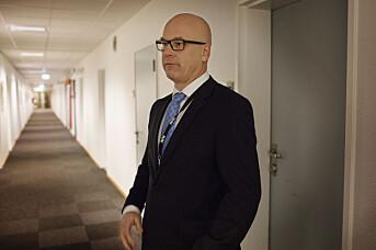 Kringkastingssjef Thor Gjermund Eriksen. Arkivfoto: Andrea Gjestvang
