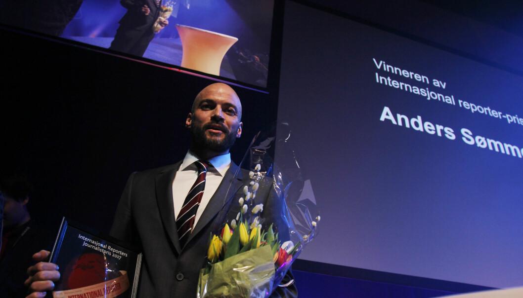 Anders Sømme Hammer vant IR-prisen i fjor. Også i år er han med i konkurransen. Foto: Martin Huseby Jensen