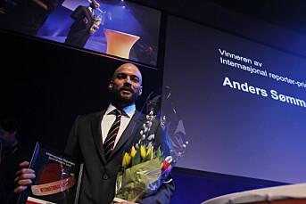 I fjor vant Anders Sømme Hammer IR-prisen. I år konkurrerer han med 37 andre bidrag om prisen