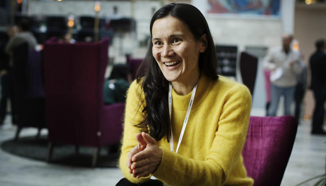 Irina Lee var invitert til Hellkonferansen for å gi råd om hvordan man får et suksessfullt frilansliv. Foto: Andrea Gjestvang
