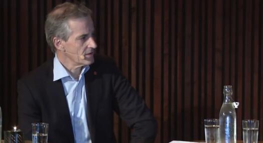 Jonas Gahr Støre med sterk kritikk mot mediene