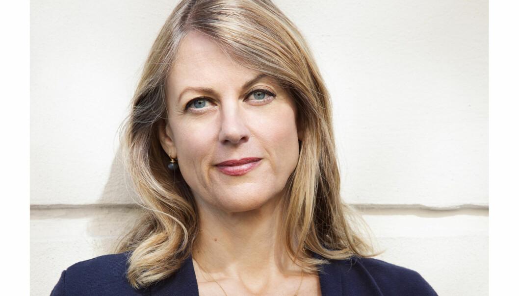 Helene Uri mener det er mye å glede seg over når det gjelder språket til norske journalister. Foto: Julie Pike