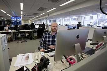 Torbjørn Katborg Grønning håper ikke visuell journalistikk blir overfladisk på nye plattformer