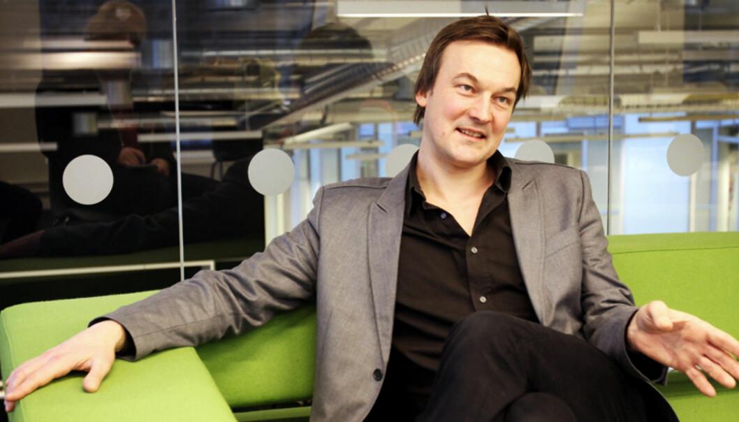 Jan Thoresen er nybakt forfatter. Foto: Birgit Dannenberg