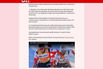 VG samarbeider med Discovery om OL – Slik blir Discoverys OL-dekning
