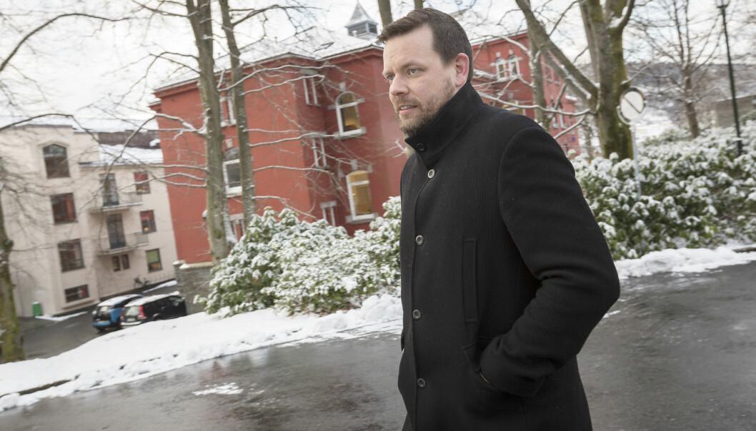 Morten Kronstad har forsket på journalistisk kompetanse. Foto: Otto von Münchow