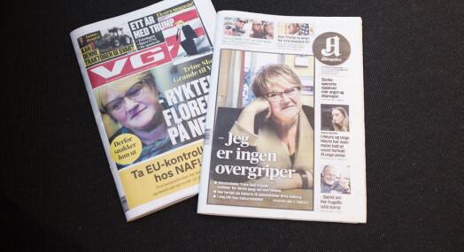 Derfor slår VG og Aftenposten opp ryktene rundt Skei Grande