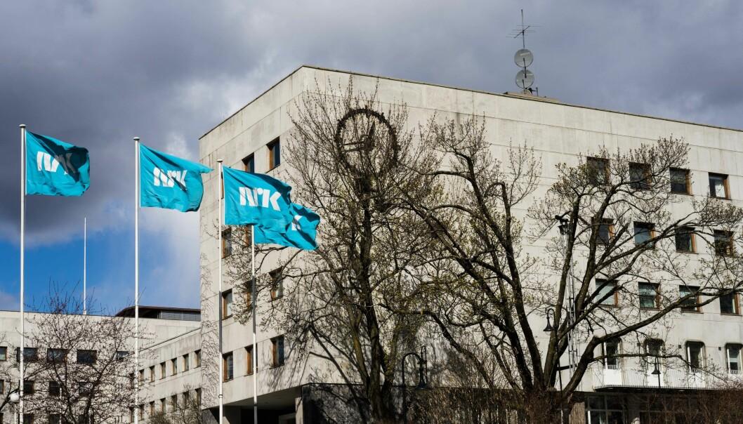 NRK legger om distriktssendingene sine fra én daglig 15 minutters sending, til tre korte sendinger. Bildet viser NRK Marienlyst i Oslo. Arkivfoto.