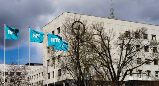 Facebook slettet bilde på NRKs intranett