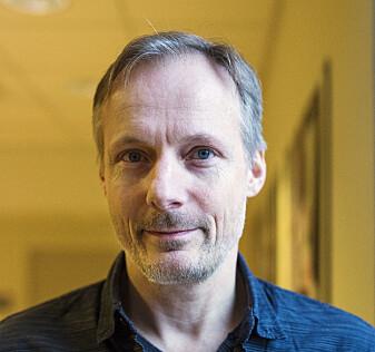 <p>Instituttleder Steen Steensen. Foto: Kristine Lindebø</p>