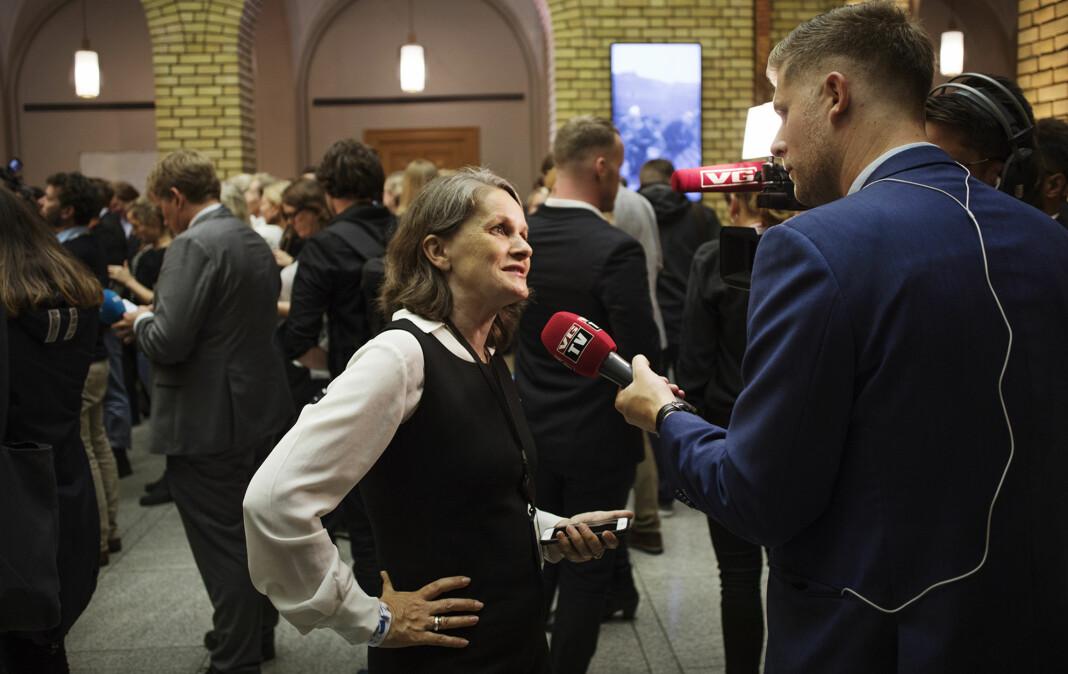 <p>VGs politiske redaktør Hanne Skartveit. Arkivfoto: Andrea Gjestvang</p>