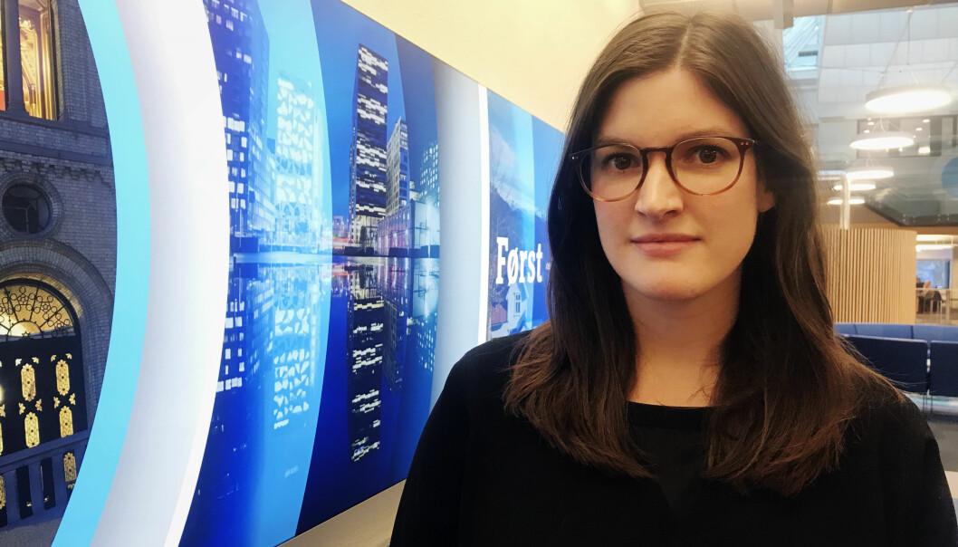 Styreleder i Internasjonal reporter, Sofie Gran Aspunvik, håper på mange ønsker å vise fram den gode utenriksjournalistikken i Norge, ved å nominere til IR-prisen 2018. Foto: Privat