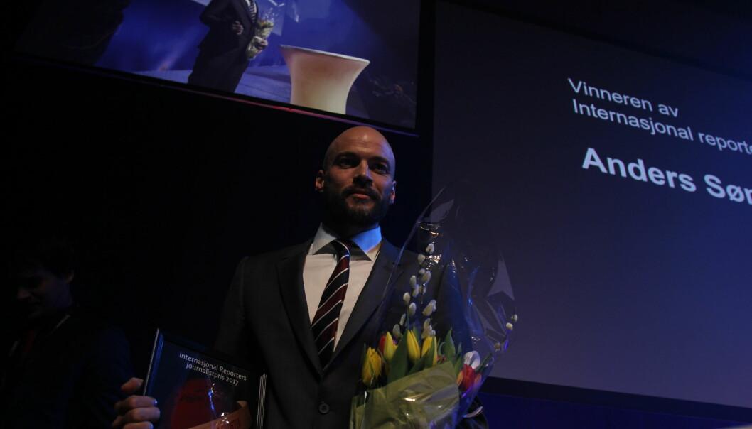 Anders Sømme Hammer vant IR-prisen 2017.Foto: Martin Huseby Jensen