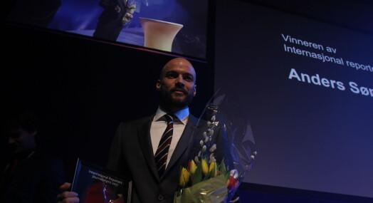 Anders Sømme Hammer fikk IR-prisen