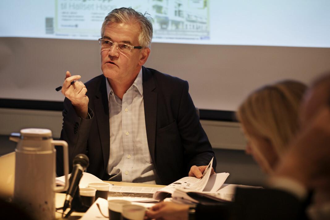Alf Bjarne Johnsen er leder i Pressens Faglige Utvalg. Arkivfoto: Andrea Gjestvang
