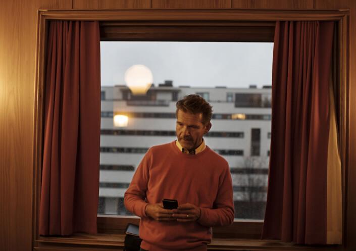 <p>August Ringvold, juridisk fagansvarlig i Norsk Jornalistlag. Foto: Andrea Gjestvang</p>