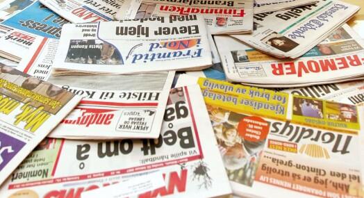 – Lederartikkelen er lokalavisenes sjel
