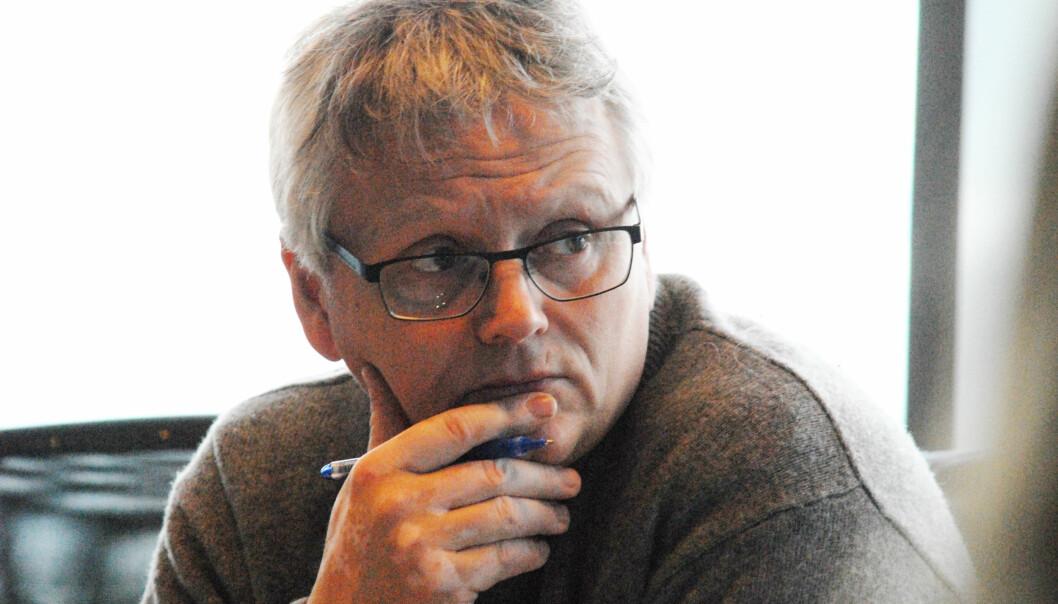 Håkon Okkenhaug forlater journalistikken og NJ for å bli næringssjef. Foto: Martin Huseby Jensen