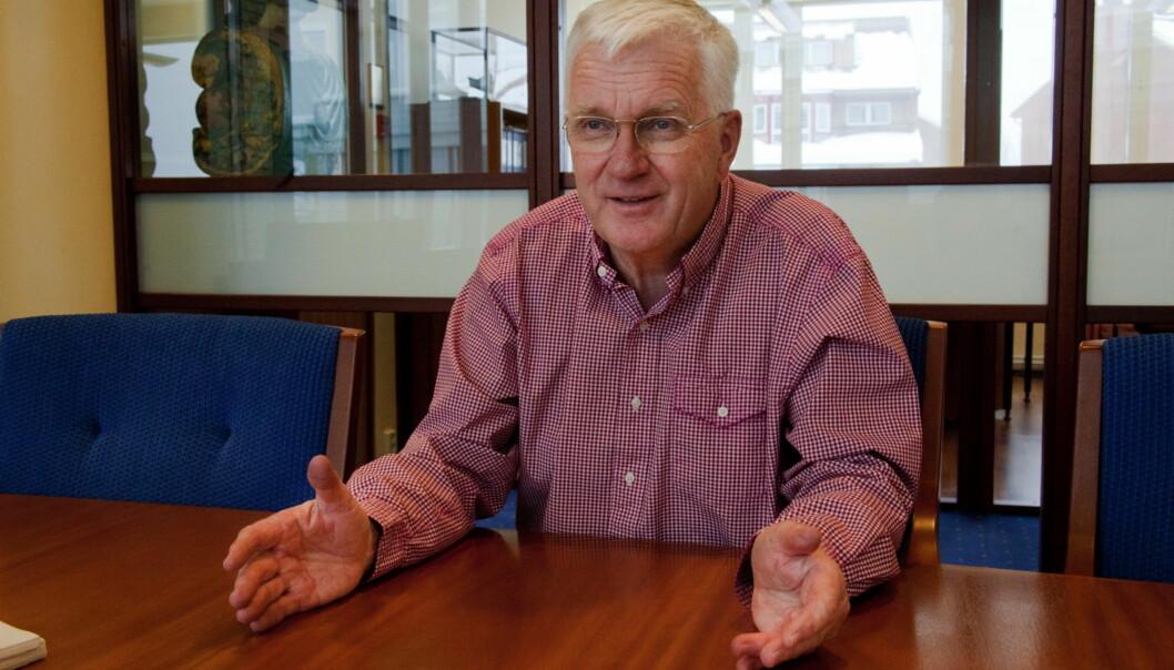 Trygve Hegnar  har drevet bladet Kapital i 40 år. Foto: Kathrine Geard