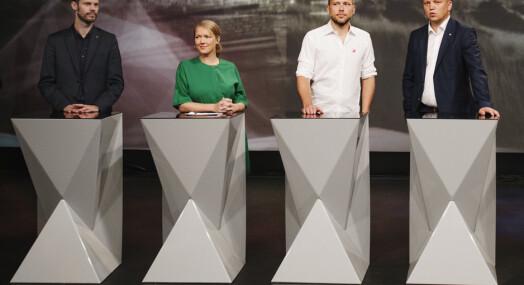 NRK og VGs valgkampdekning nærmest identisk på nett