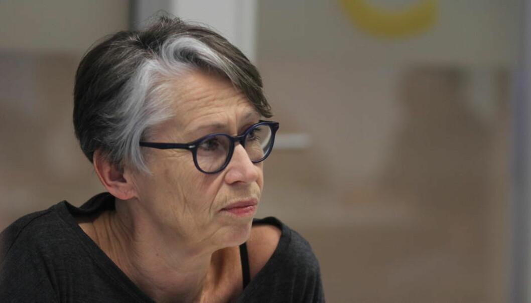 Det er rollen, og ikke personen tidligere landsstyremedlem i Norsk Journalistlag, nå organisasjonssekretær Anne Berit Larsen i NRKJ som opptar medlemmene på årsmøtet. Arkivfoto: Martin Huseby Jensen