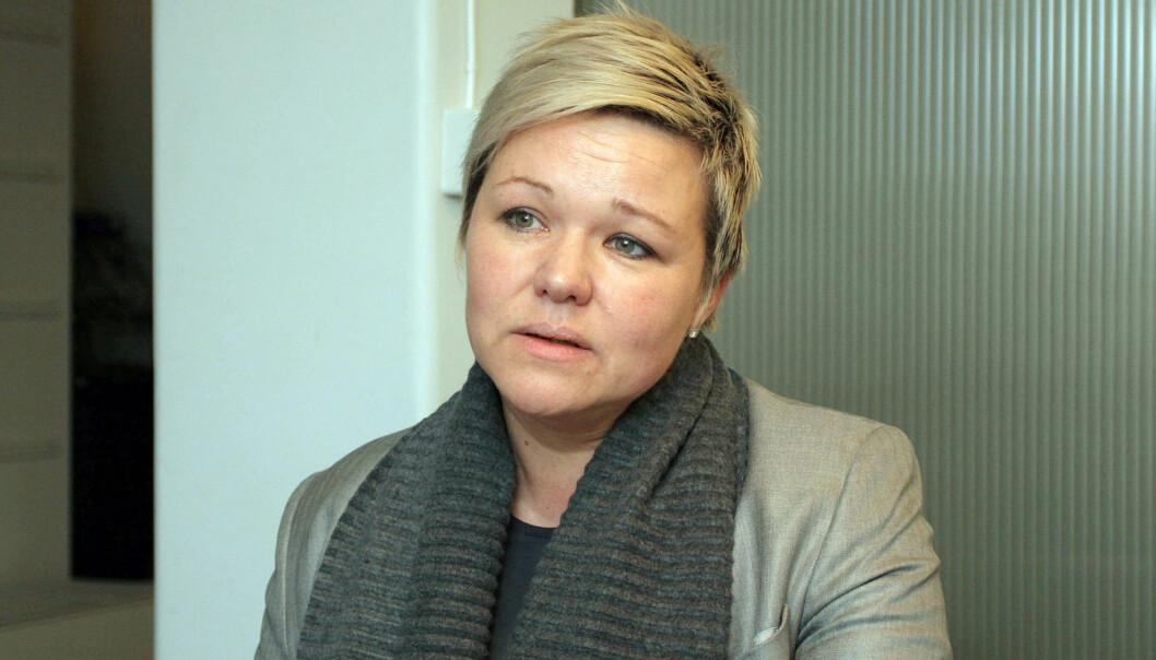 Henrikke Helland er klubbleder i TV 2. Foto: Birgit Dannenberg