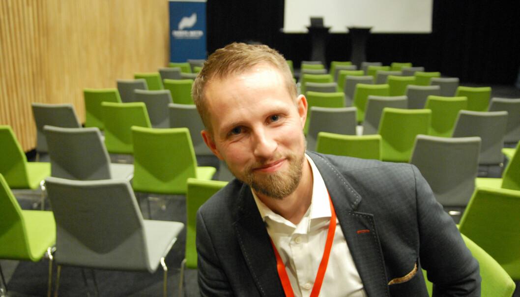 Ansvarlig redaktør i Nordlys, Helge Nitteberg, deltok på Svarte Natta. Han er godt fornøyd med Nordnorsk debatt. Foto: Martin Huseby Jensen