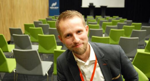 Helge Nitteberg vil helst sette overskrift om jernbane i hele Nord-Norge på trykk