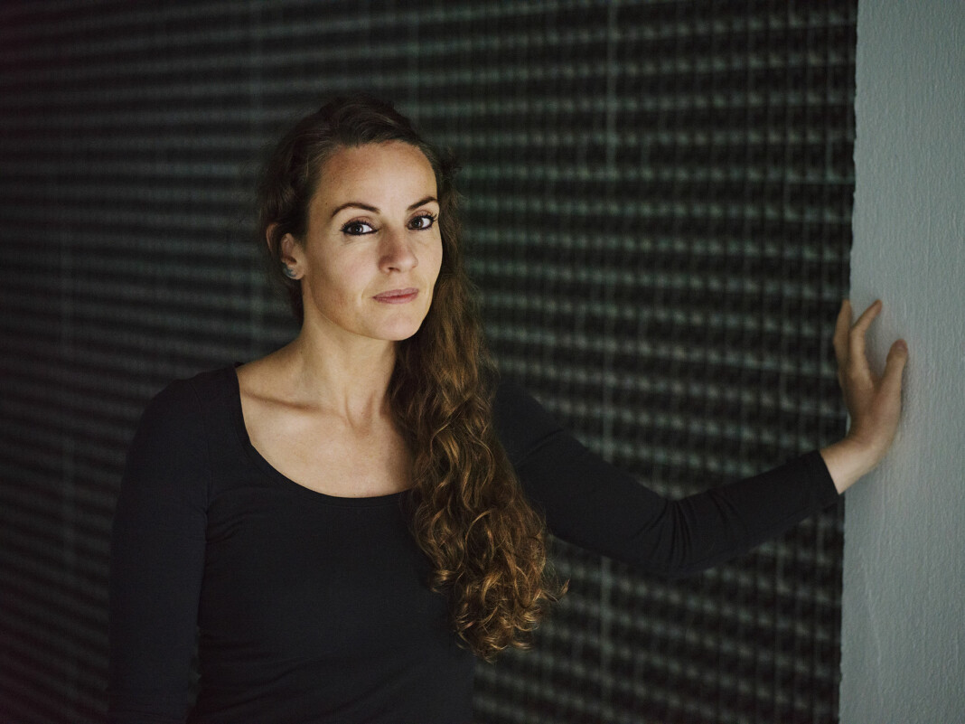 <p>Linda Bournane Engelberth i utstillingen «Persona» på NoPlace i Oslo tidligere i år. Arkvifoto: Andrea Gjestvang</p>