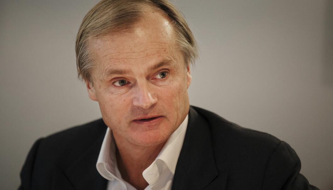 Investor og allmennhetsrepresentant Øystein Stray Spetalen under et møte i PFU i oktober i fjor. Foto: Andrea Gjestvang
