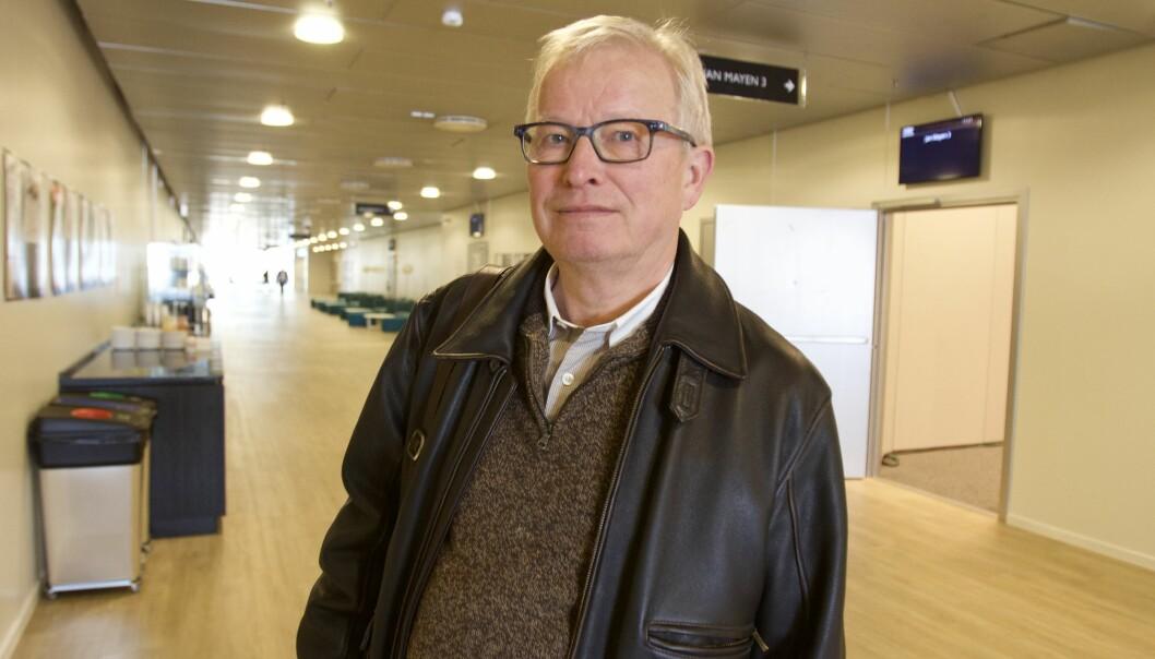 Bernt Olufsen på Lillestrøm. Foto: Glenn Slydal Johansen