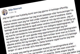 Gyldendal vurderer bokutgivelse med Silje Stavrum