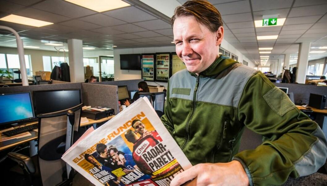 Redaktør Stig Jakobsen i iTromsø mener både avisen og frilanseren har vært og er ryddige om roller. Foto: Tom Benjaminsen/iTromsø